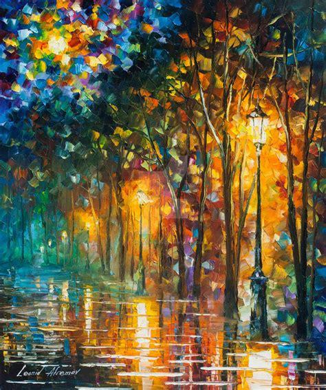 tranquility by leonid afremov by leonidafremov on deviantart