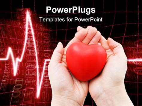 cardiac ppt template a in caring a cardiogram in the