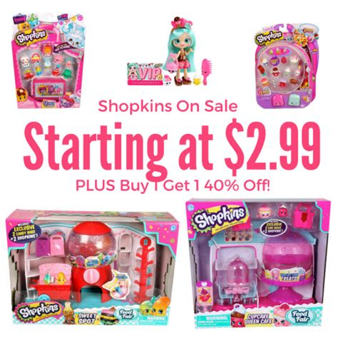 Sale Season Is Starting by Shopkins On Sale Starting At 2 99 Plus Buy 1 Get 1 40