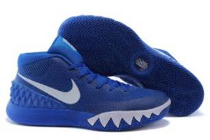 basketball shoes cheap nike kyrie irving 1 royal blue white basketball shoes