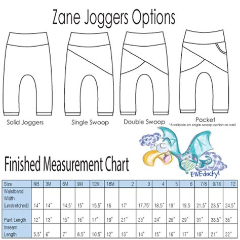 pattern joggers zane joggers pdf pattern elliedactyl