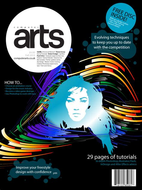 magazine cover design jobs computer arts cover by robert vargas at coroflot com
