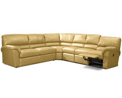 butter yellow sectional sofa butter yellow leather sectional m d s house