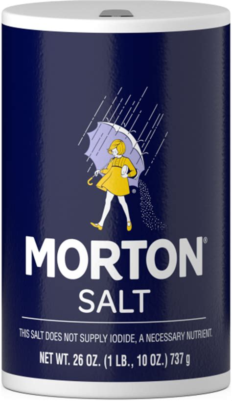 table salt morton salt culinary