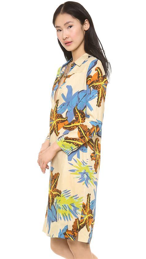 Dress Batik Vera 1 antik batik alizee djellabah dress in multicolor camel lyst