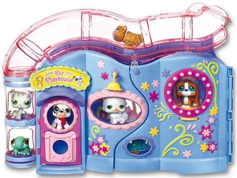 shop casa littlest pet shop casa de juegos con 6 mascotas