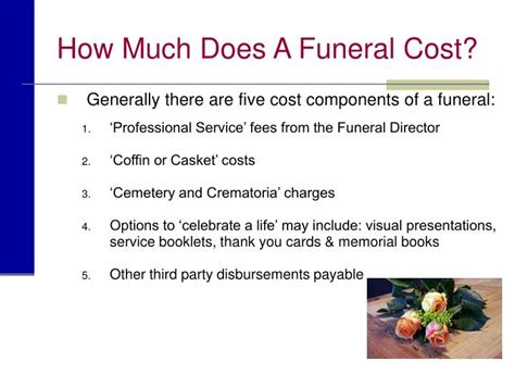 do funeral homes have payment plans ppt planning a funeral ppt planning a funeral presented by name of funeral