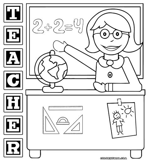 teacher coloring pages teacher coloring pages coloring pages to download and print