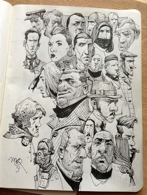 Sketch Book ian mcque on sketchbooks and