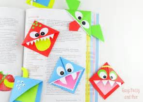 Origami Bookmark - 20 and easy origami for easy peasy and