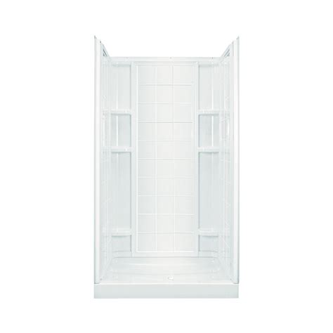 shop sterling ensemble white vikrell wall and floor 4
