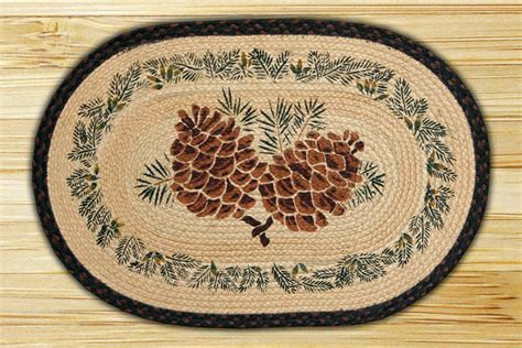 large oval area rugs oval patch large pinecone braided earth rug 174