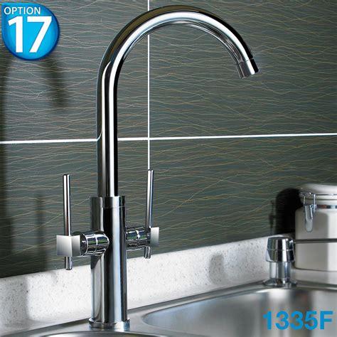 Kitchen Sink Styles Chrome Swivel Spout Monobloc Kitchen Sink Mixer Tap Various Styles Ebay