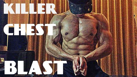 killer home chest workout pushup workout must try