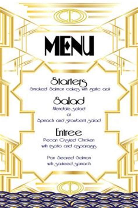 great gatsby dinner menu 1000 images about gatsby on gatsby