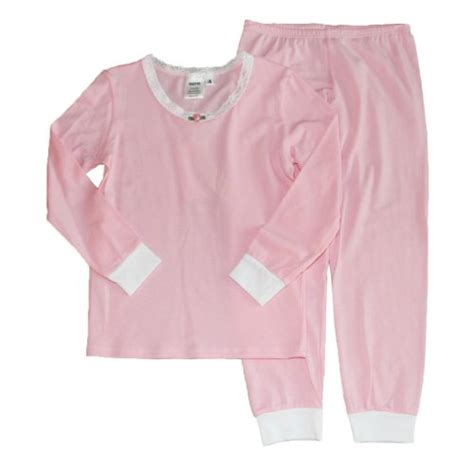 most comfortable pajamas esme girls comfortable snug fit l s sleepwear pajamas