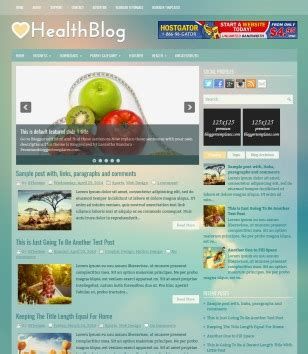 medical templates for blogger health blogger templates 2018 free download