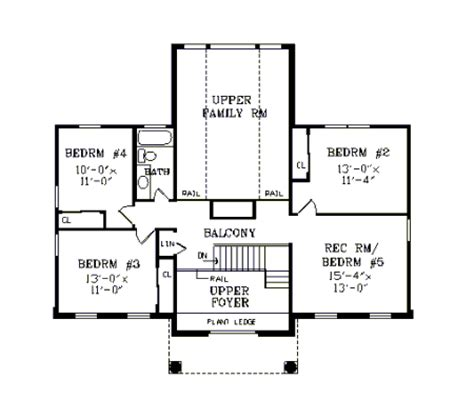 monticello second floor plan house monticello house plan green builder house plans