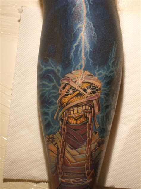 7th son tattoo iron maiden seventh of a seventh