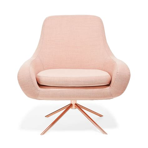 gold armchair rose gold chair california gt chicago pinterest curves swivel chair and rose