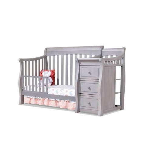 sorelle 4 in 1 crib sorelle tuscany 4 in 1 convertible crib combo in weathered