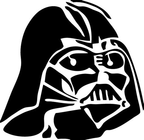 Darth Vader Outline by Eps Graphics More