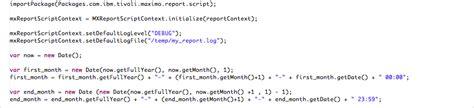 birt javascript format date methods for date selection in birt