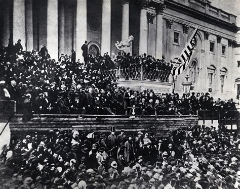 lincoln inaugural address 1865 poltiics abraham lincoln second inaugural address