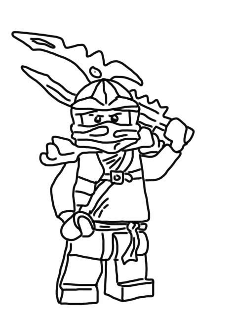 free new lego ninjago coloring pages