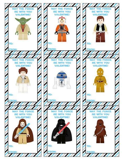 Printable Lego Star Wars Valentine Cards | star wars valentine s day cards valentine s day cards