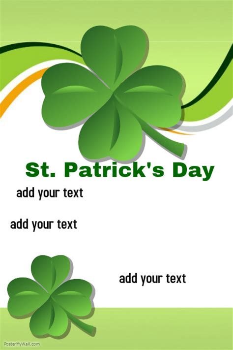 st template st patricks day template postermywall