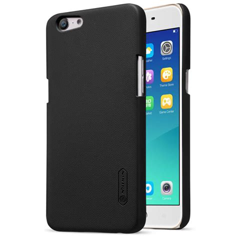 Nillkin Frosted Casing For Oppo A57 Hitam nillkin frosted shield for oppo a57 a39 black jakartanotebook