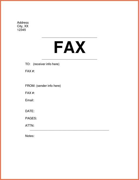 fax cover sheet templates fax cover letter exle bio exle