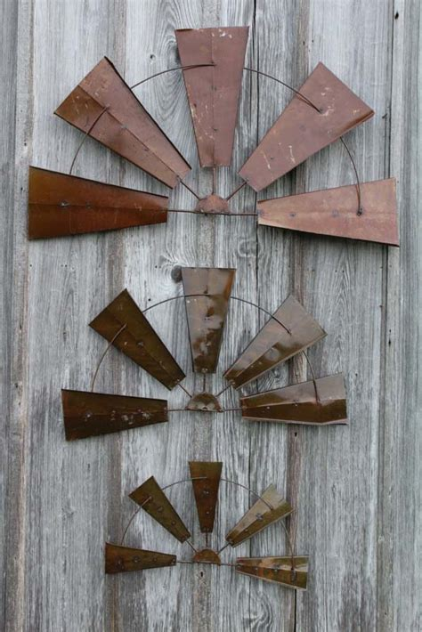 windmill wall decor metal rustic half windmill wall decor