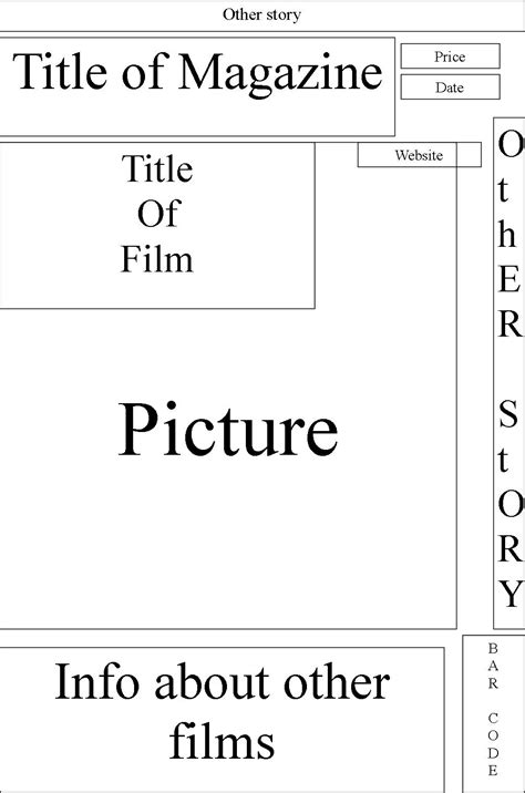 Evaluation Movie Trailer Blog Free Magazine Templates For Microsoft Word