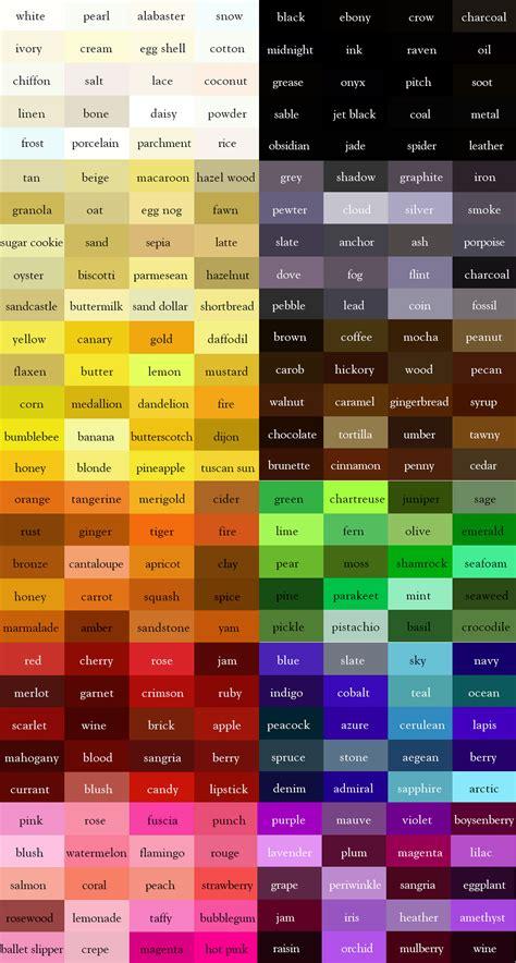 color thesaurus the color thesaurus color palettes pinterest lula