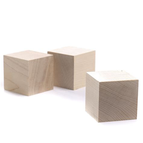Unfinished Wood Cubes Wooden Cubes Unfinished Wood