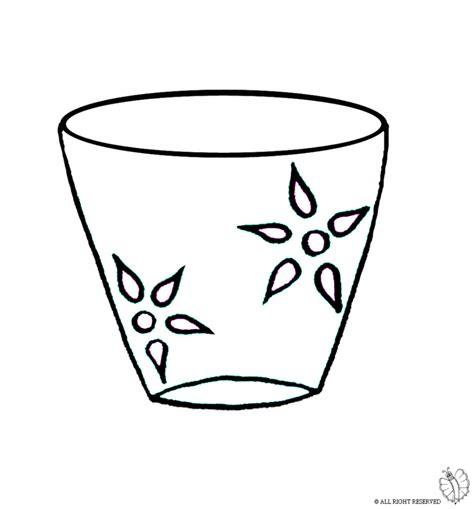 disegni di vasi sta disegno di vaso da colorare