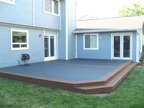Decking Patio by Creation For Decks And Patios Idea Of Gardens Home Ideas
