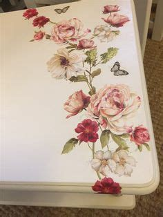 shabby chic esszimmer tische decoupage map table for the to use when pop up