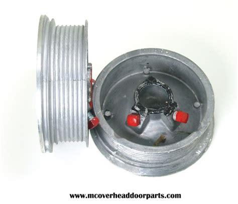 Garage Door Drum Garage Door Cable Drums For 7 And 8 High Doors Standard 4 Quot Diameter Cable Drum