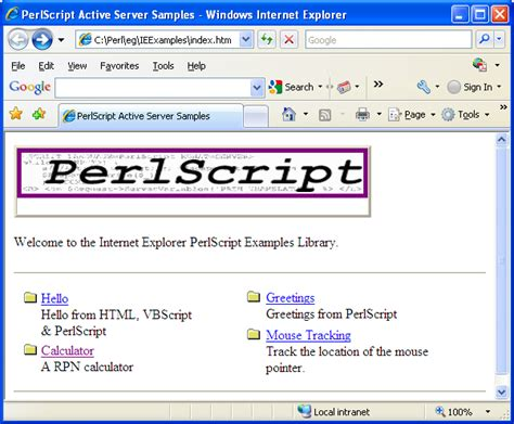 configure xp perl activeperl perl for windows viewing perl script from ie