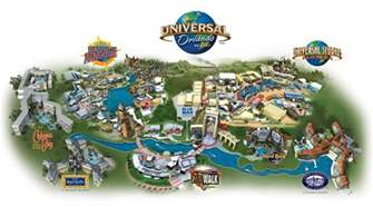 Universal Orlando Resort Map by Maps Of Universal Orlando Resort S Parks And Hotels