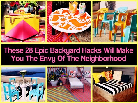 Backyard Hacks These 28 Epic Backyard Hacks Will Make You The Envy Of The