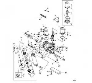 power trim components mercury marine parts mercury performance 821539 pin trilobe