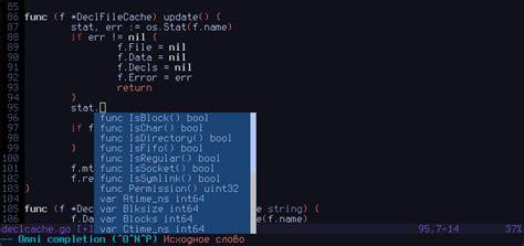 vim go github nsf gocode an autocompletion daemon for the go