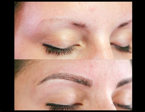 should you tattoo your eyebrows portland cosmetic tattoo portland wedding makeup artist