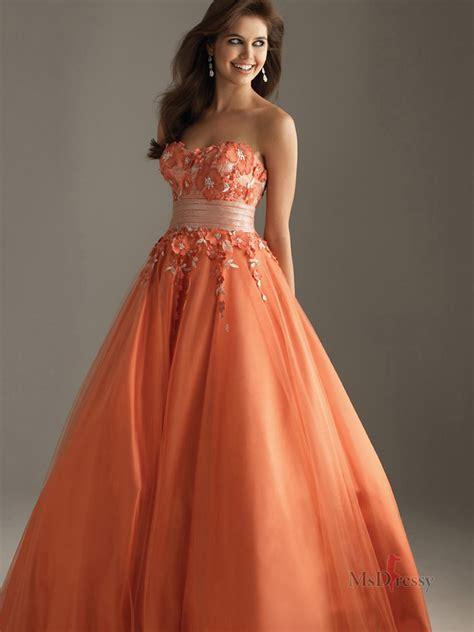 orange prom dresses orange dresses  prom simply