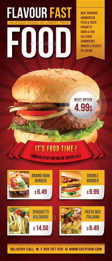 Restaurant Food Banner Bundle By Rapidgraf Graphicriver Food Banner Design Template Free