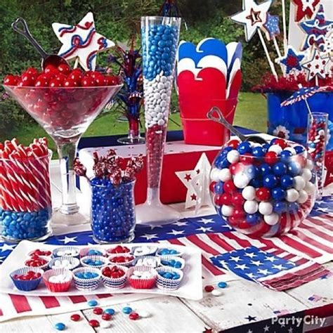 american themed party quotes 4th of july candy buffet love it gumballs candy